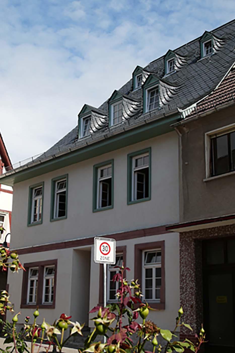 02_Erbach Markt, Haupthaus
