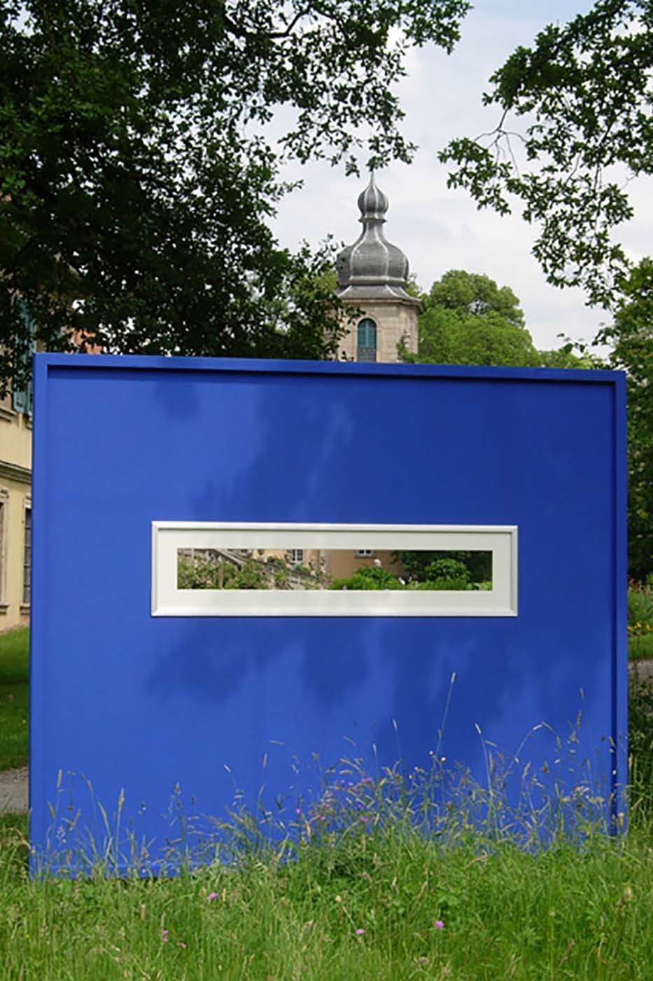 03_Ansicht blau, Schloss Fasanerie [2007]