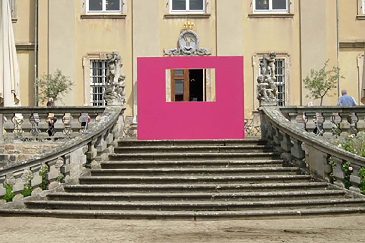 06_Ansicht Restaurantterrasse, Schloss Fasanerie [2007]
