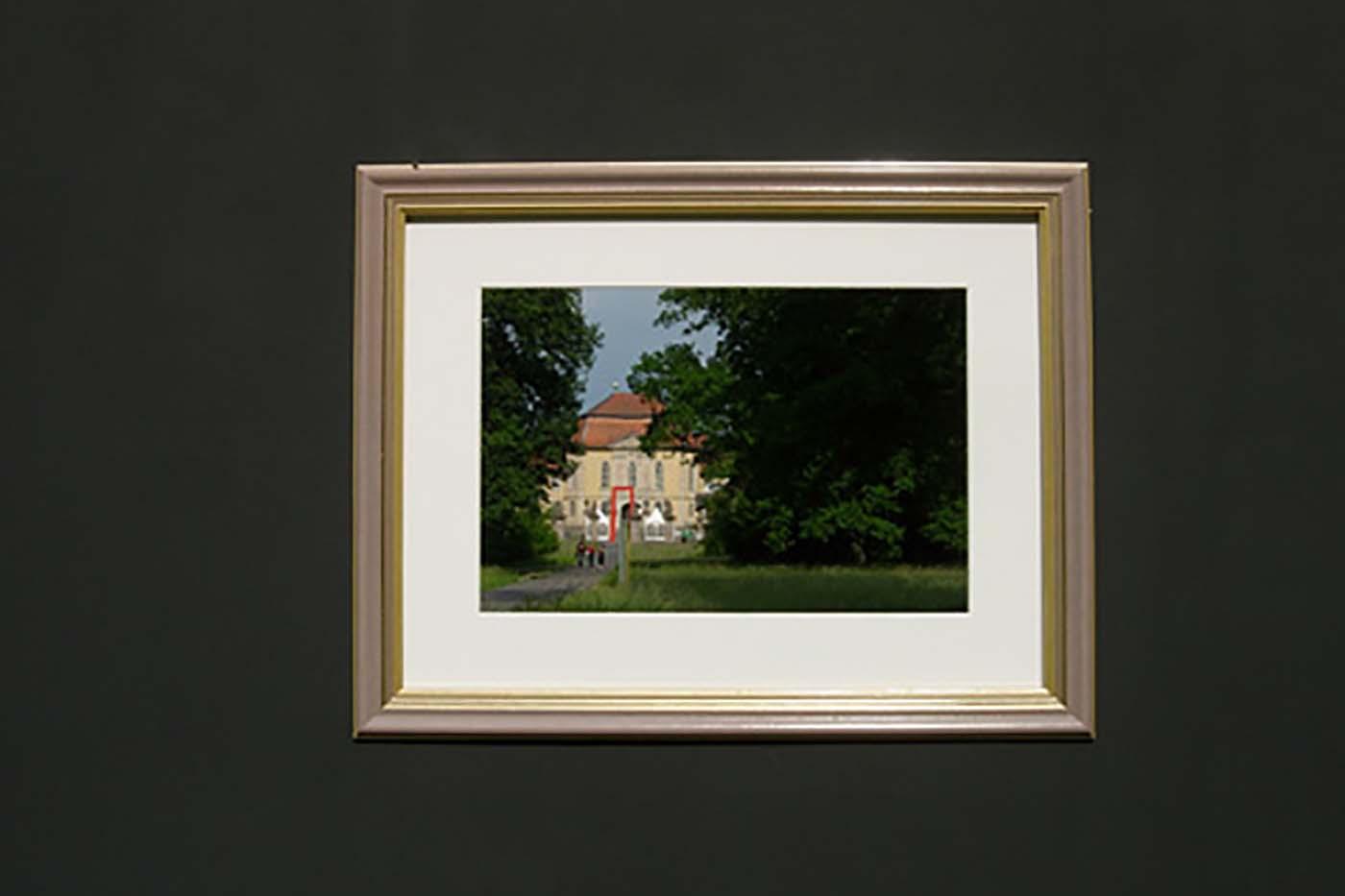 09_Ansicht schwarz, Schloss Wolfsgarten [2007]