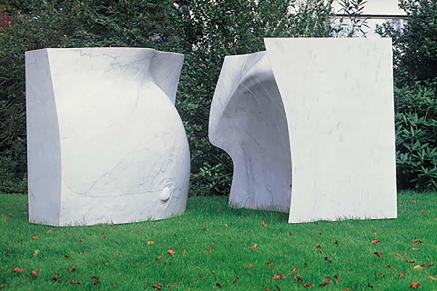 10_Grosser Wuerfel, Bianco Carrara [2000]