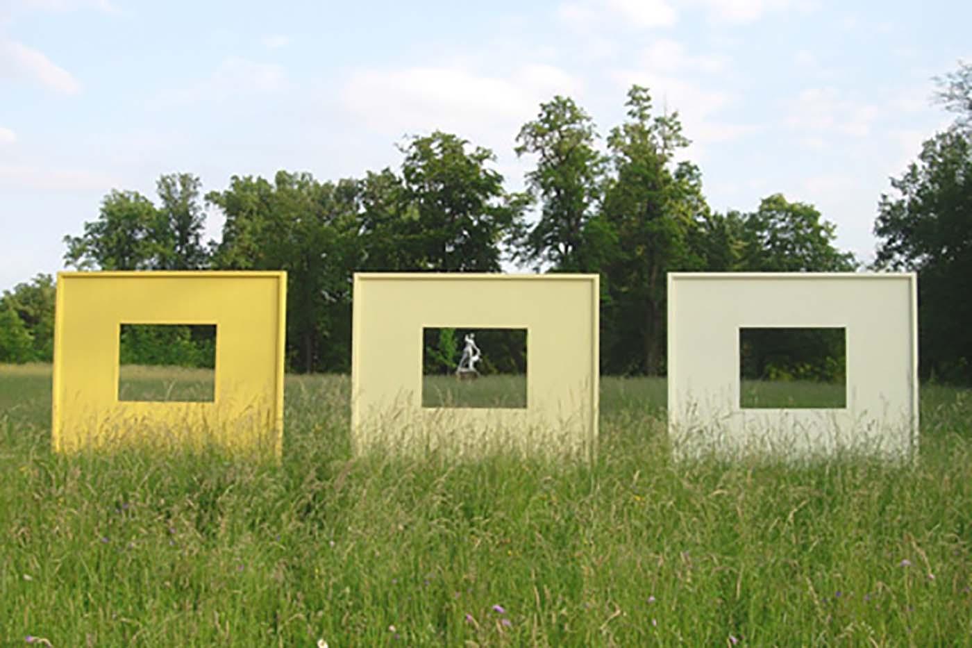 12_Ansichten gelb, Schloss Fasanerie [2007]