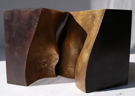 44_Duenen I, 2010, Bronze, 13,5 x 13,5 x 13,5 cm