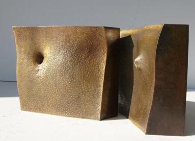 46_Weide I, 2010, Bronze, 13,5 x 13,5 13,5 cm