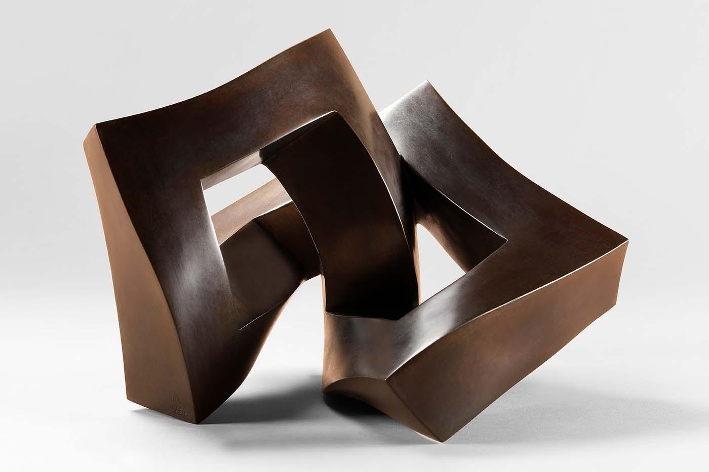 Achterbahn, 2019, Bronze, 25 x 25 x 35 cm(01)
