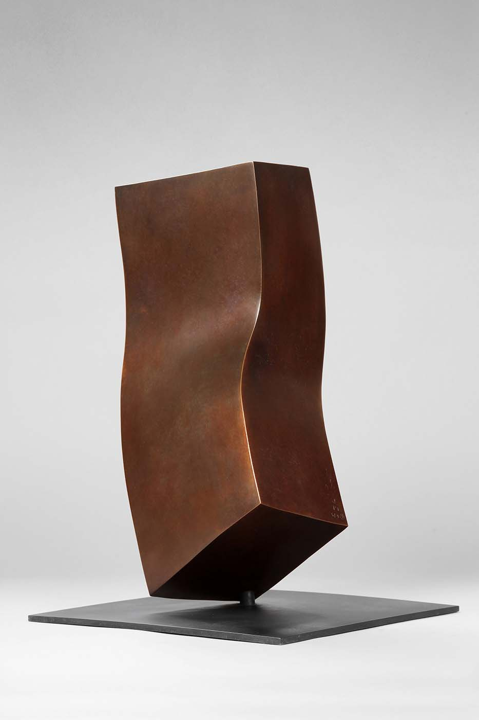 Anderer Gedanke, 2010, Bronze, 25 x 25 x 40 cm (01)