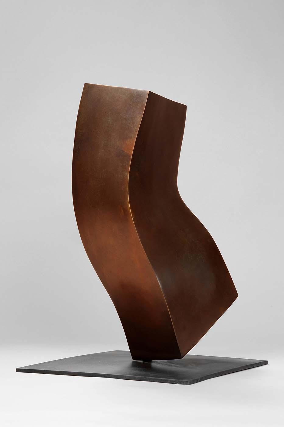 Anderer Gedanke, 2010, Bronze, 25 x 25 x 40 cm (02)