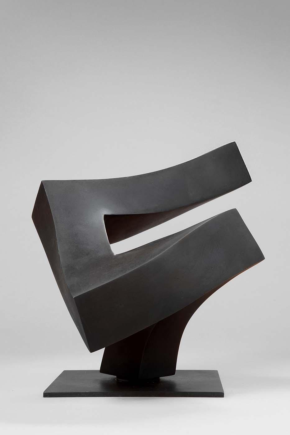 Athlet (Starter), 1998, Bronze, 22 x 22 x 34 cm (02)
