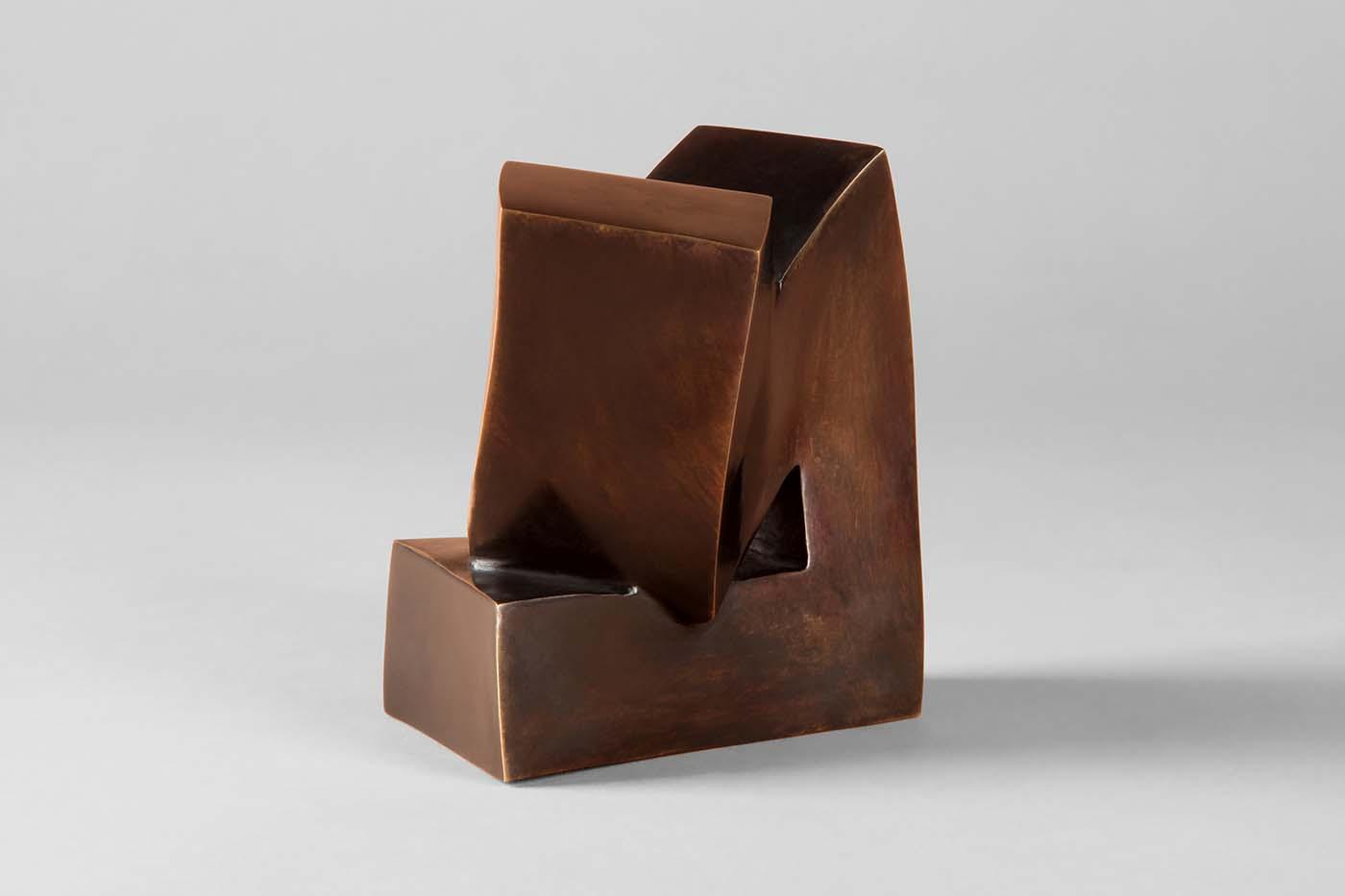 Der Denker, 2013, Bronze, 10,5 x 8 x 8 cm (2)