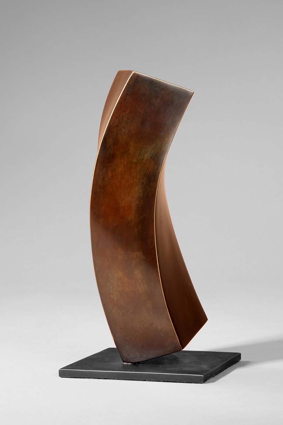 Flüchtiger Gedanke, 2008, Bronze, 6 x 10 x 22 cm (01)