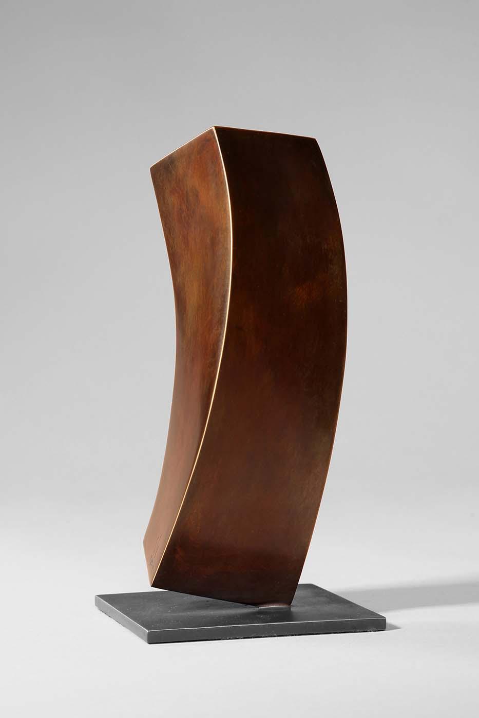 Flüchtiger Gedanke, 2008, Bronze, 6 x 10 x 22 cm (02)