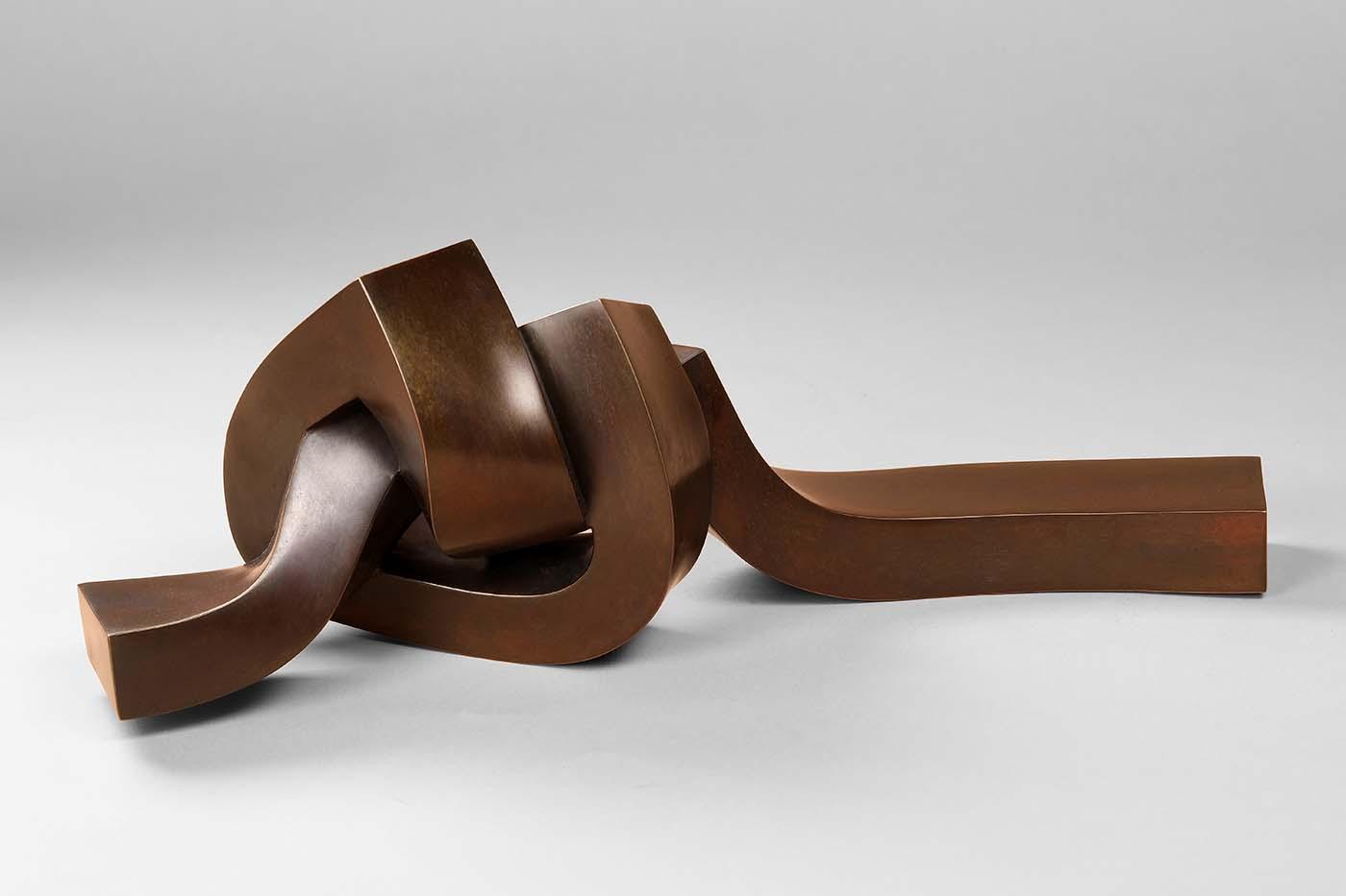 Gordius, 2019, Bronze, 16 x 15 x 40 cm, (2).jpg
