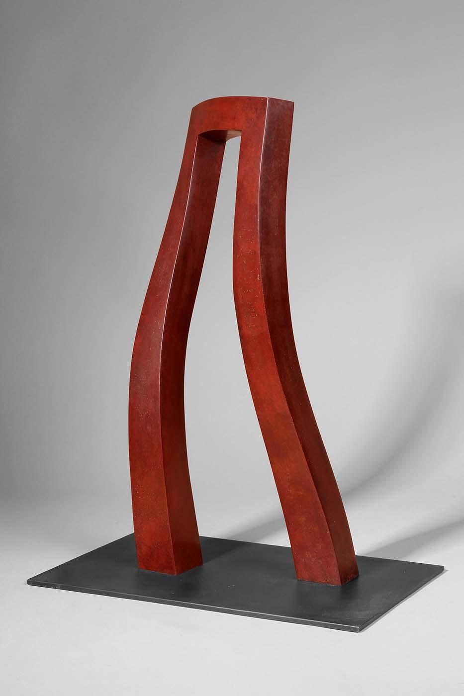 Großer Schritt, 2011, Bronze, 48 x 21 x 15 cm (01)