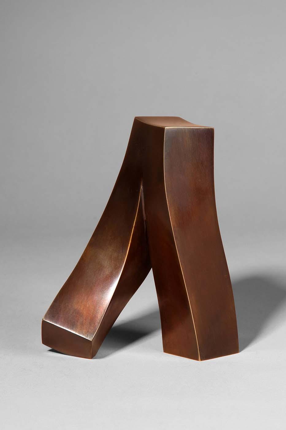 Kleiner Schritt, 2011, Bronze, 13,5 x 11,5 x 7,5 cm (02)