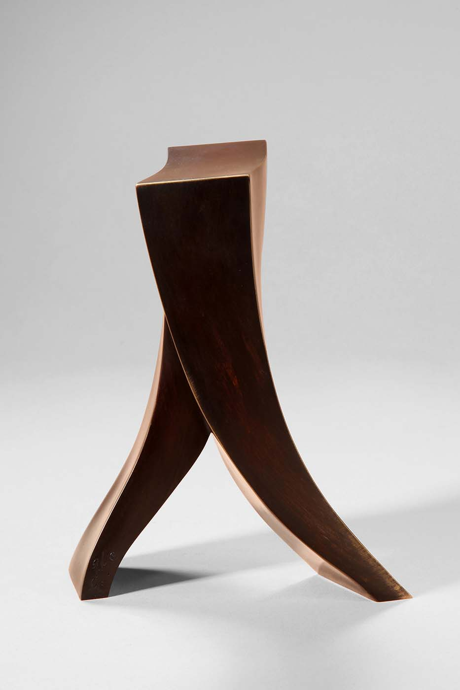 Schritt zum Erfolg, 2011, Bronze, 18,5 x 16 x 9 cm (02)