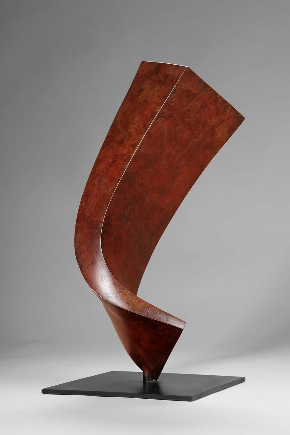 Wachstum, 2011, Bronze, 38 x 18 x 18 cm (01)