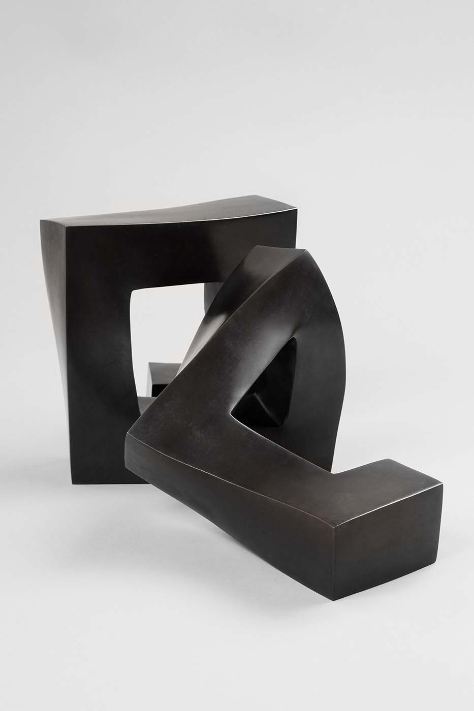 Zerreißprobe, 2010, Bronze, 19 x 19 x 35 cm (01)