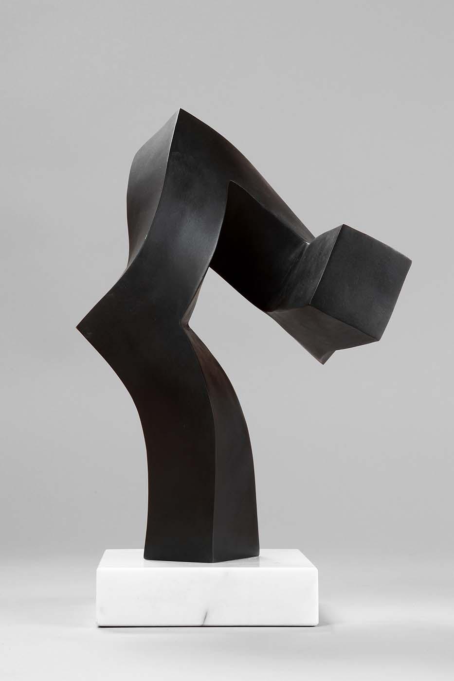 Zukunftsfrage, 2008,Bronze, 34 x 27 x 19 cm (01)