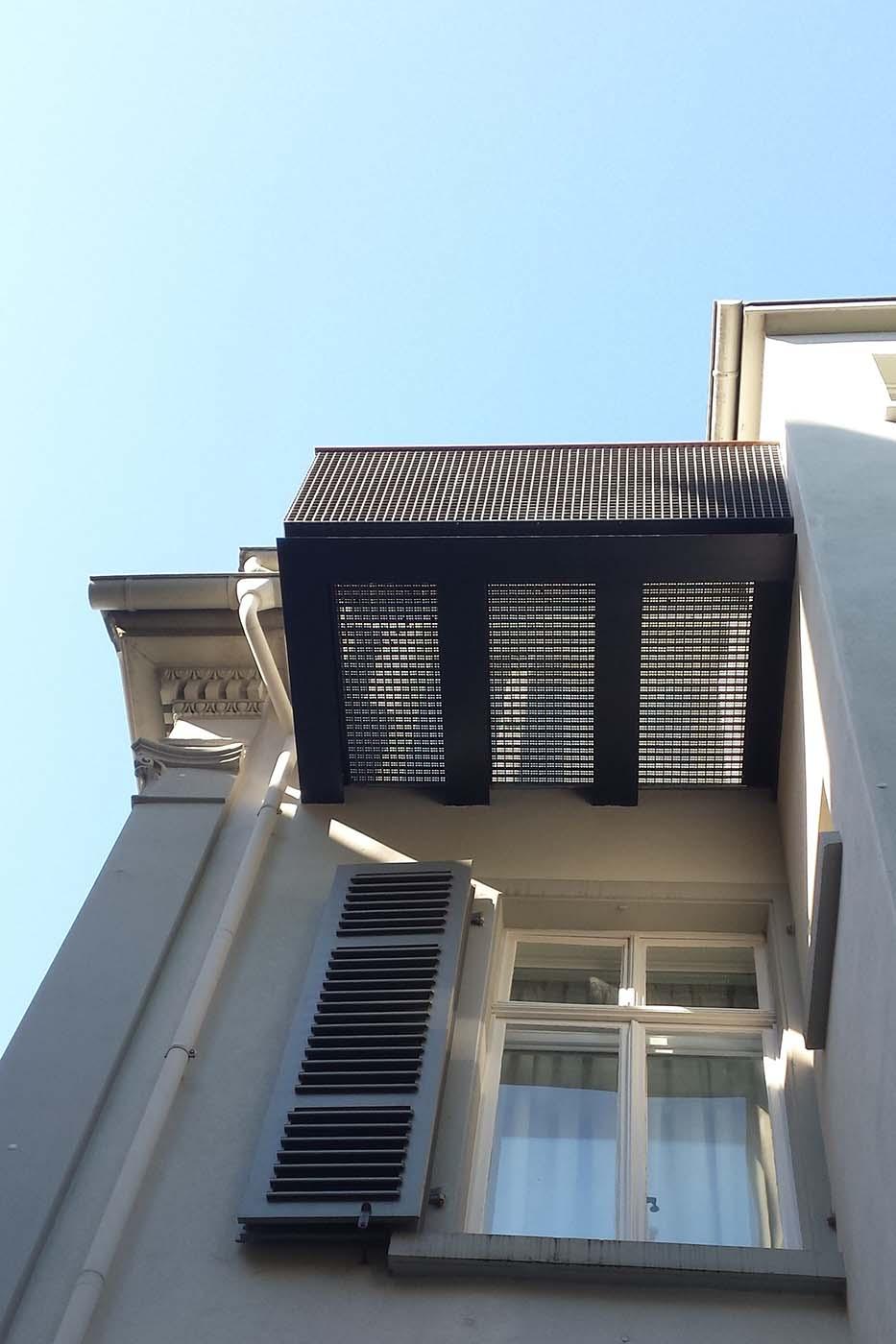 Villa Marienquelle Balkon DG